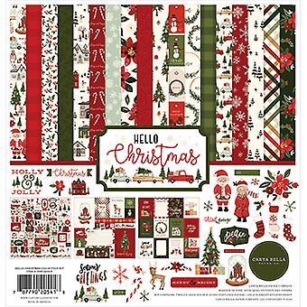 Carta Bella Hello Joulu 12x12 Tuuman Kokoelmasarja