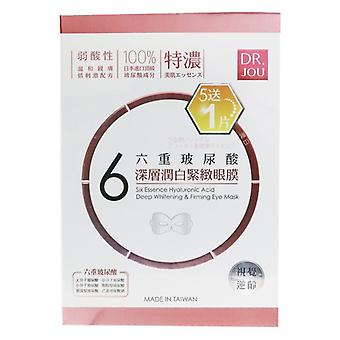 DR. JOU (By Dr. Morita) Six Essence Hyaluronic Acid Deep Whitening & Firming Eye Mask (Exp. Date: 07/2021) 6pcs