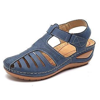 Vintage Wedge Sandals