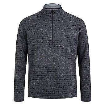 Berghaus Thermal Tech 1/2 Zip Mens Long Sleeve Outdoor Baselayer Shirt Grey