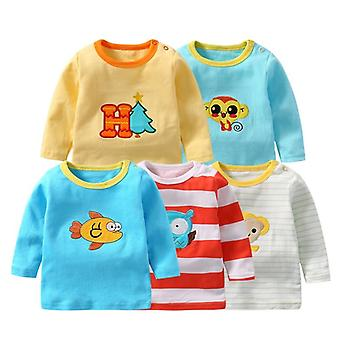 Detské / Tričká, Oblečenie s plným rukávom Bavlnené tričko Topy