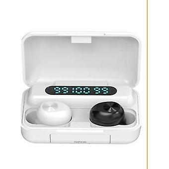 Waterproof Sport Wireless Bluetooth Headphones With Mic And Led Display