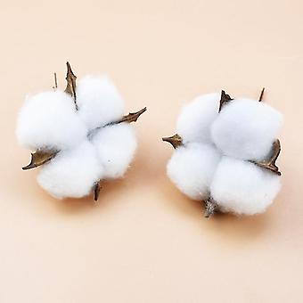 Cotton Florist Supplies Wedding Car Decorative Flower Wreaths Christmas Home