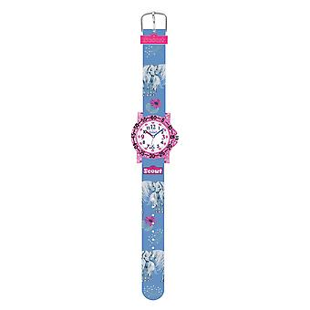 Scout Kids Watch Learning Watch IT Collection - Amici Horses, Flowers Girls 280375027