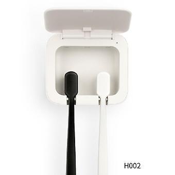 Automatischer Ultraviolett Uv Light Zahnbürstenhalter mit Zahnpasta-Quetschen