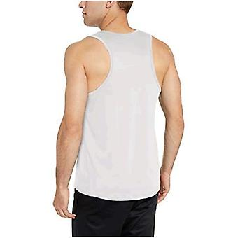 Essentials Men's Tech Stretch Performance Tank Top Shirt, weiß, Medium