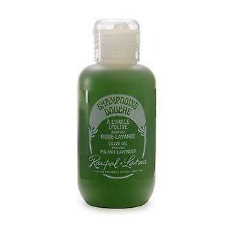 Shower shampoo with olive oil, fig-lavender scent 100 ml