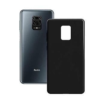 غطاء الهاتف المحمول Xiaomi Note 9 Pro/9S اتصل ب Silk TPU Black