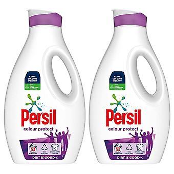 2x de detergente líquido de color peligro de 53W para piel sensible 1.54L, total 212W