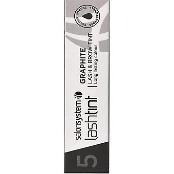 Salon System  Colour Create And Define - Lash And Brow Tint - Graphite 15ml