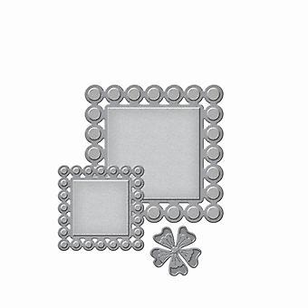 Spellbinders Die D-Lites - Beaded Squares