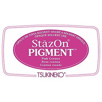 Stazon Pigment Mustetyyny Vaaleanpunainen Kosmos