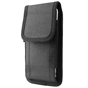Vertical Cell Phone Pouch Waist Bag Case With Belt Clip Compatible For Mobile