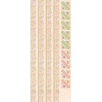 K & Co - Somerset Borders/Corners Glitter Stickers
