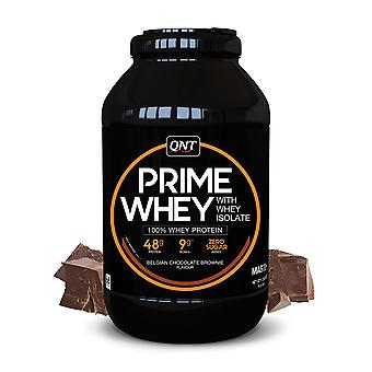 QNT Prime Whey Protein Powder 100% Whey Isolate - 908g - Belgian Chocolate