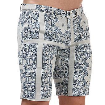 Men's Henri Lloyd Chino Shorts in Grey