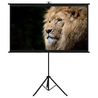 vidaXL écran de projecteur avec trépied 50» 16:9