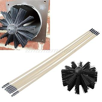 Nylon Brush With Long Handle Flexible Pipe Rods For Chimney Kettle House