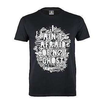 Ghostbusters Womens/Ladies I Aint Afraid Boyfriend T-Shirt