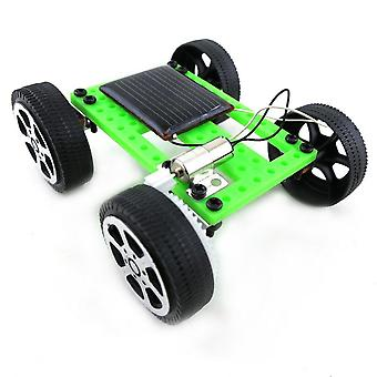 Diy Solar Mini Powered Legetøjsbil Kit, Robot Moving Racer, Educational Gadget, Set