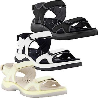 ECCO Womens Yacatan 2.0 Nubuck Leather Adjustable Outdoor Summer Sandals