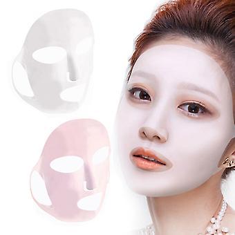 4pc/lot и 2pcs/lot Силиконовая маска увлажняя anti-off ухо маски хе исправлено Предотвращение Сущность испаряя многоразовую маску для ухода за кожей лица