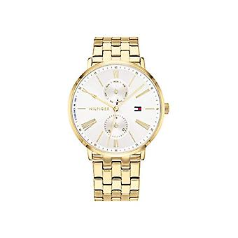 טומי הילפיגר נשים קוורץ שעון רב-רבעים עם רצועת נירוסטה 1782069