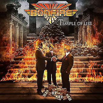 Bonfire - Temple of Lies [CD] USA import