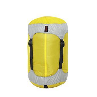 كيس ضغط، S /M/L كيس كيس النوم الاشياء، مقاومة للماء Ultralight كيس النوم ضغط كيس كبير لحقائب الظهر، والمشي لمسافات طويلة والتخييم