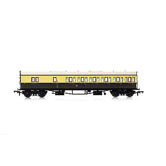 Hornby GWR Collett 57' Bow Ended D98 4972 Six Compartment Brake Third (Right Hand) Era 3 Model Train