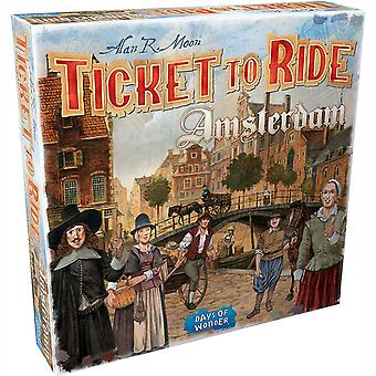 Ticket To Ride Amsterdam Board Game