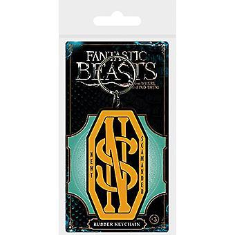 Fantastic Beasts PVC Keyring Newt Scamander