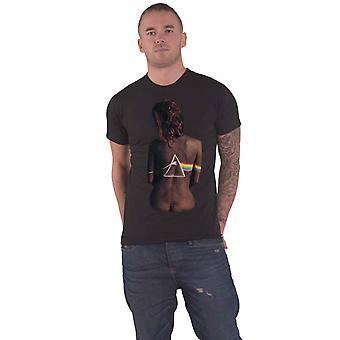 Pink Floyd T Shirt Ebony Band Logo new Official Mens Black
