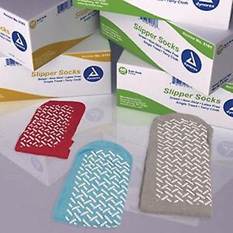 Dynarex Slipper Socks, Green 1 Each