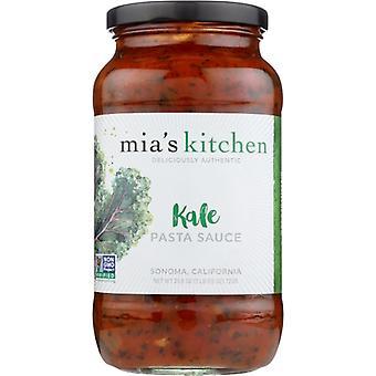 Mias Kitchen Sauce Psta Kale, Case of 6 X 25.5 Oz