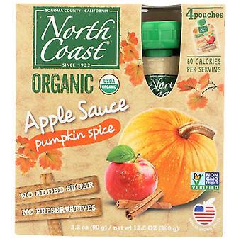 North Coast Apple Sauce Pumpkin Spice, sag af 6 X 12,8 Oz