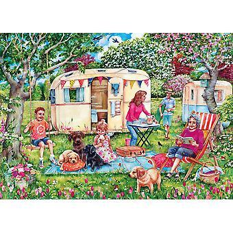Gibsons Caravan Escape Jigsaw Puzzle (1000 pièces)