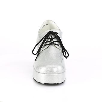Funtasma Apparel & Accessoires > Costumes & Accessoires > Chaussures costume > Mens JAZZ-02G Pearlized Slv Gltr