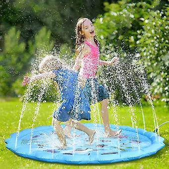 "Splash Pad, 68"" Große Wasserspielmatte Sprinkler Wasserspielzeug Spielmatte Sprinkler Play Matte für"