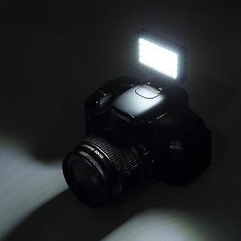 Lumière vidéo 32 Led Lumière de remplissage intégrée pour téléphone mobile Appareil photo numérique