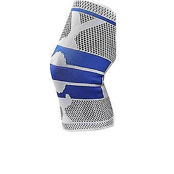 1Pcs full knee brace strap patella medial support(M)