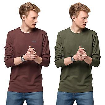 Jack Wolfskin Męska koszulka z długim rękawem 2021 Essential
