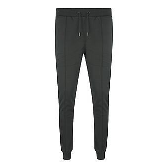 Philipp Plein Sport Lined Logo Black Sweatpants