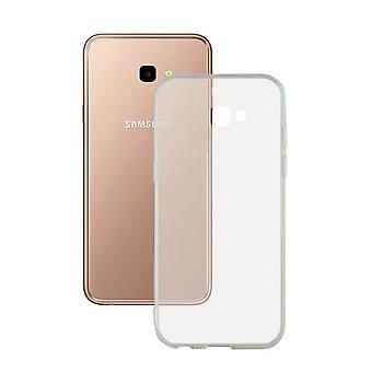 Coque mobile Samsung Galaxy J4+ 2018 Flex TPU Transparent