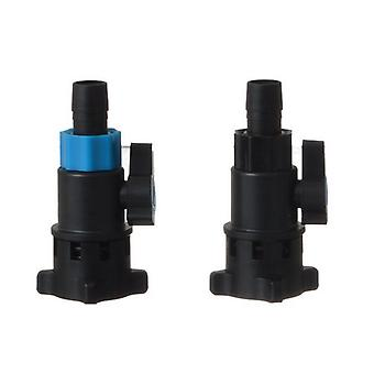 Penn Plax Flow Control Valve Replacement Set for Cascade Canister Filter - 2 Pack