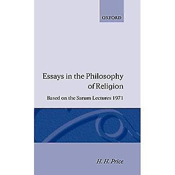 Essäer i religionsfilosofin: Baserat på SARUM-föreläsningarna, 1971