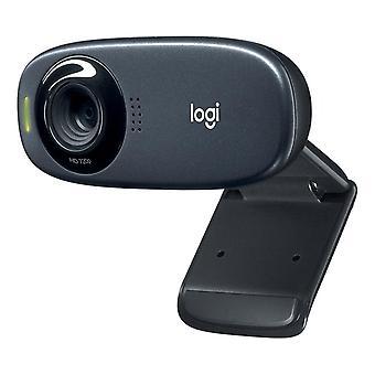 Logitech C310 Webcam cu microfon de anulare a zgomotului, 720p/30fps, sva