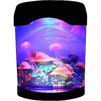 Usb meduusalamppu, sähköinen akvaariosäiliö Ocean Mood Night Light Led Meduusa Laavalamppu värillä