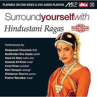 Surround Yourself with Hindustani Ragas [DVD-Audio] USA import