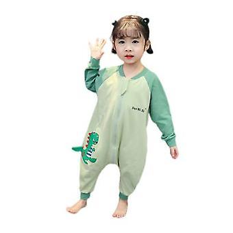 Śpiwór dla dzieci Bawełna Jednoczęściowa piżama anti-kick kołdra